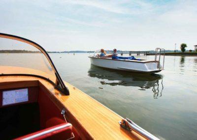 Eine Bootsfahrt die ist lustig...